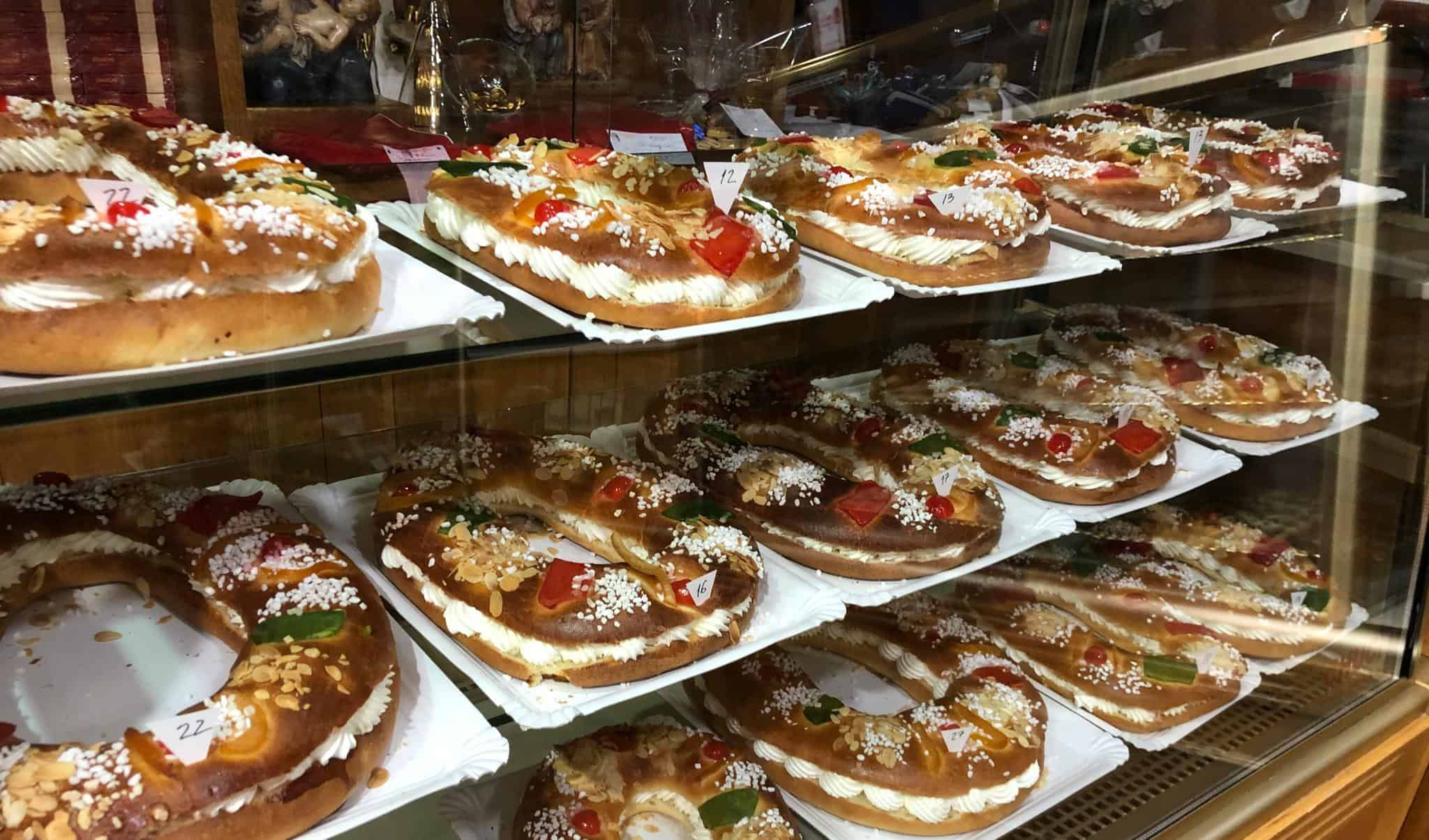El roscón de Reyes en Ávila