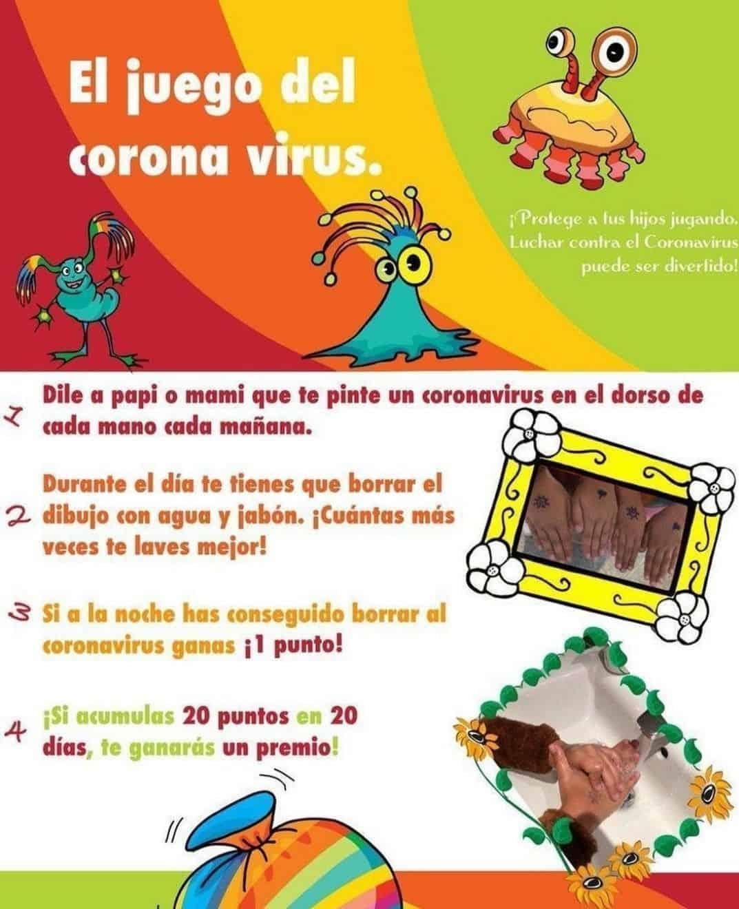 el juego coronavirus