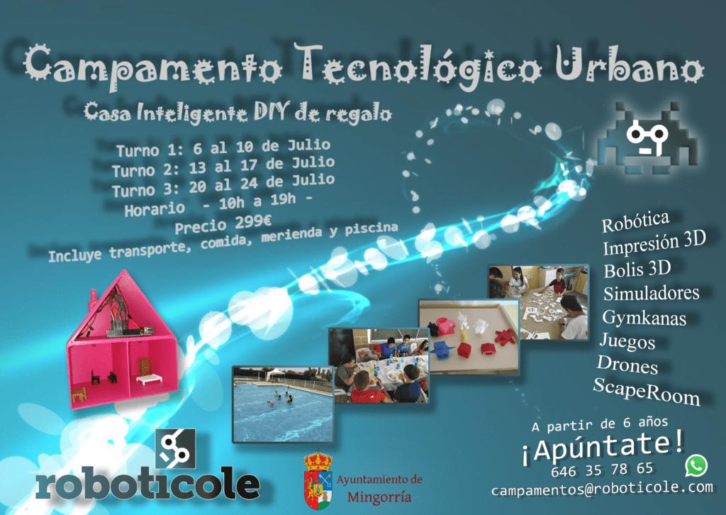 campamento verano roboticole