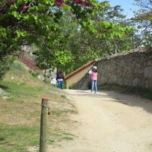 valle de iruelas con niños