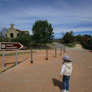 Senda accesible casa del parque Valle de Iruelas
