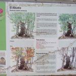 Cartel de El Abuelo. EL Tiemblo